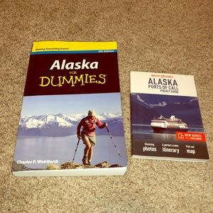 2 Alaska tour books